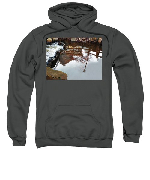 Waterfall From Calm Waters Sweatshirt