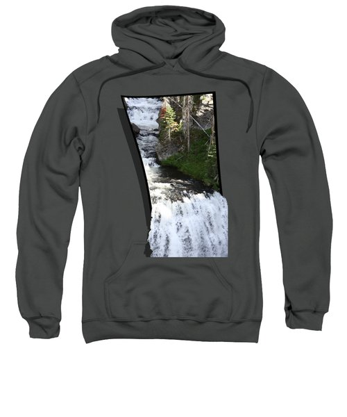 Waterfall Sweatshirt by Shane Bechler