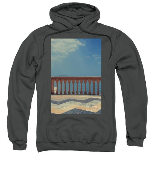 Waterfront Balcony Ringling Ca D Zan The Last Of The Gilded Mansions Sweatshirt