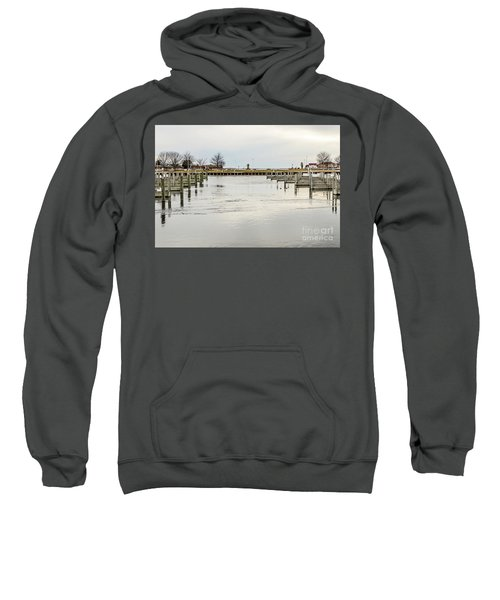 Waterfront Park In Ludington, Michigan Sweatshirt
