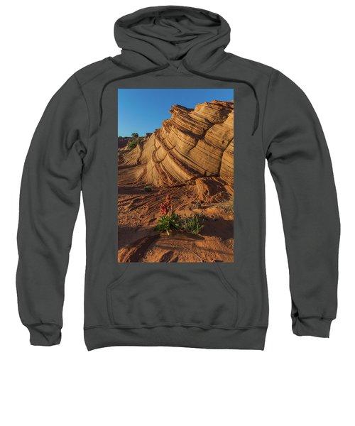 Waterhole Canyon Evening Solitude Sweatshirt