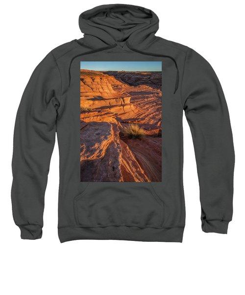 Waterhole Canyon Sunset Vista Sweatshirt