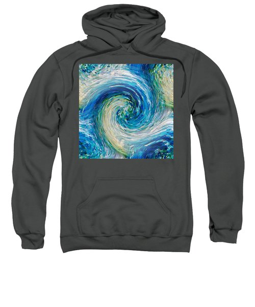 Wave To Van Gogh II Sweatshirt