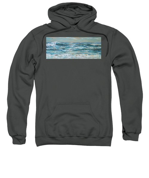 Waves And Wind Sweatshirt