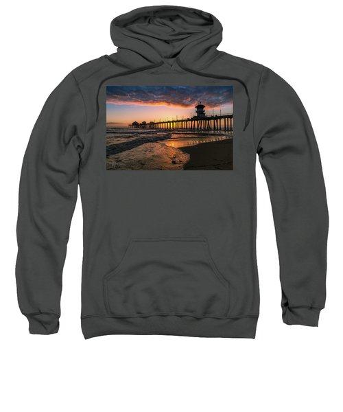 Waves At Sunset Sweatshirt