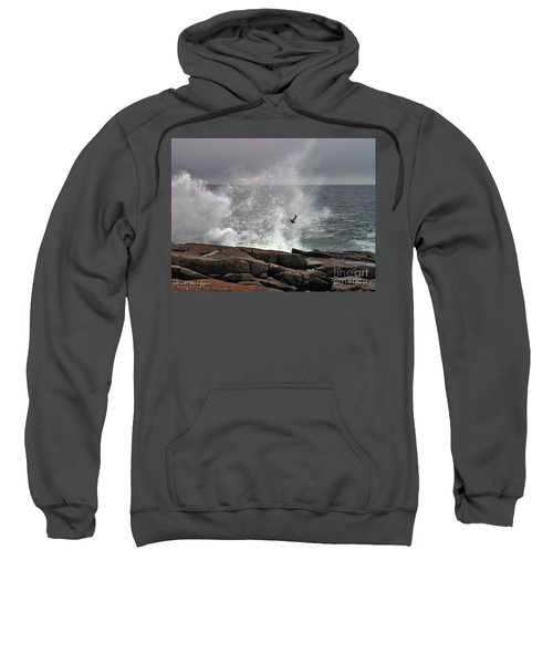 Waves Crashing  Sweatshirt