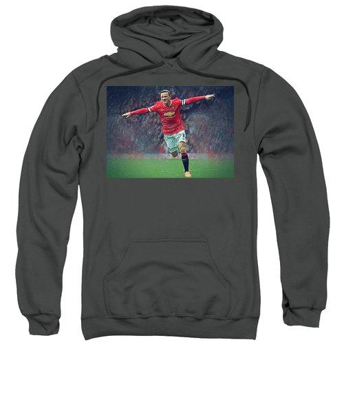 Wayne Rooney Sweatshirt by Semih Yurdabak