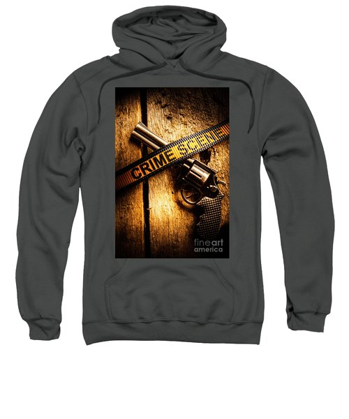 Weapon Forensics Sweatshirt