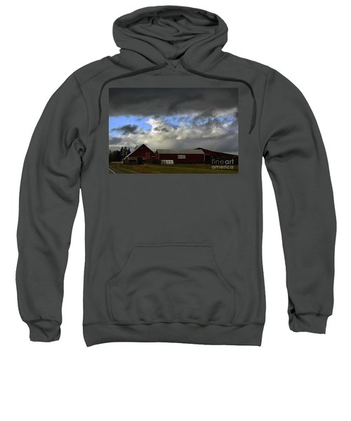 Weather Threatening The Farm Sweatshirt