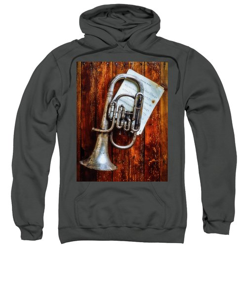 Weathered Flugel Horn Sweatshirt