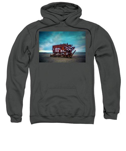 Weathered Rusting Shipwreck Sweatshirt