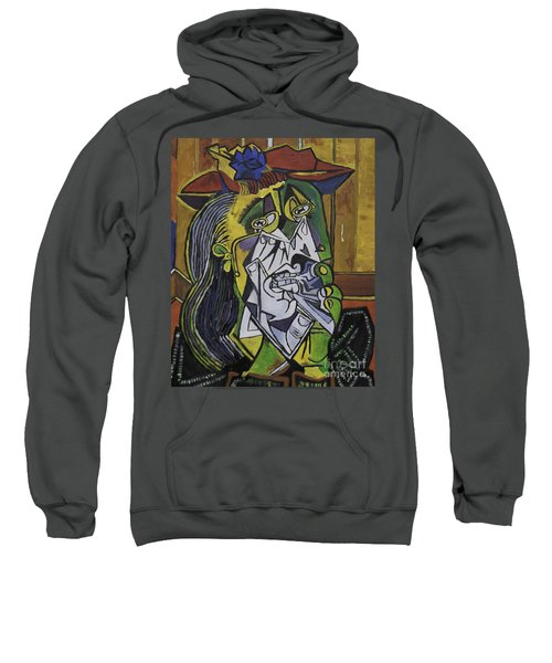 Picasso's Weeping Woman Sweatshirt