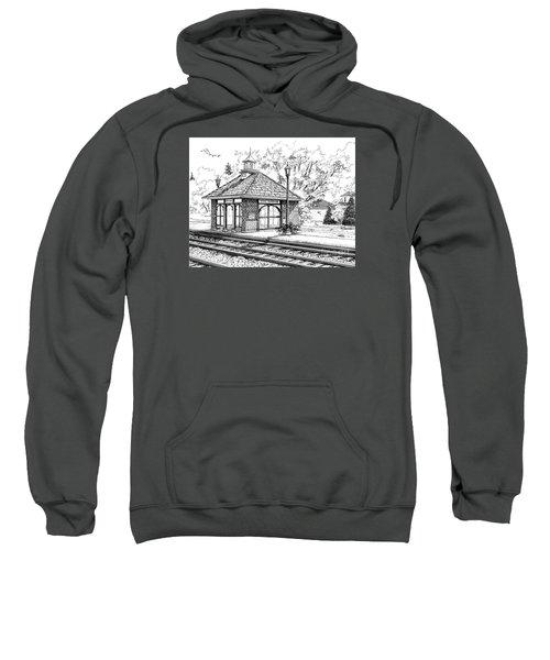West Hinsdale Train Station Sweatshirt