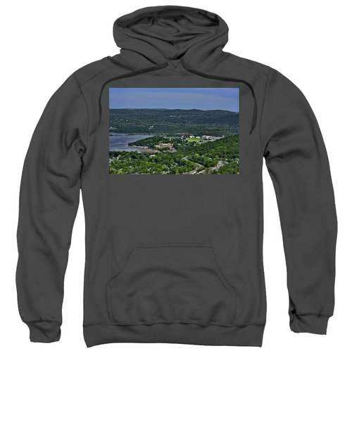 West Point From Storm King Overlook Sweatshirt