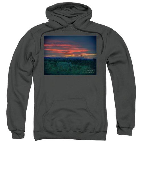 Western Texas Sunset Sweatshirt