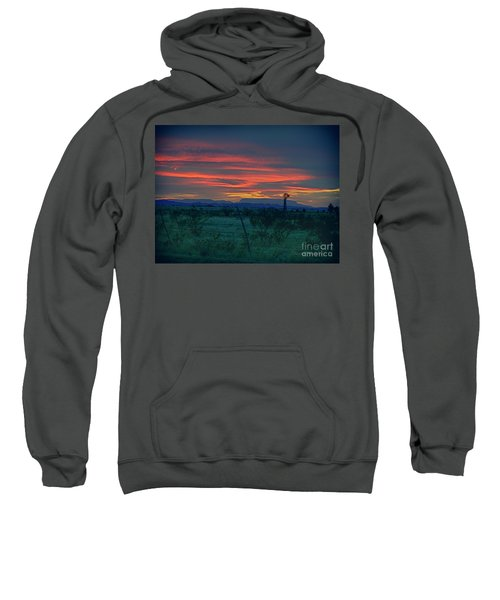 Western Texas Sunset Sweatshirt