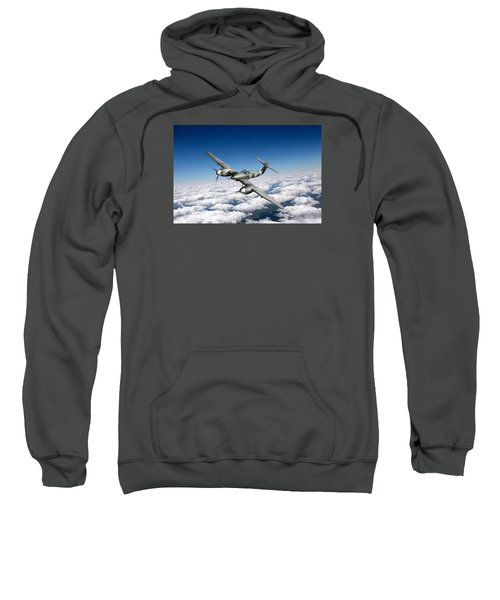 Sweatshirt featuring the photograph Westland Whirlwind Portrait by Gary Eason