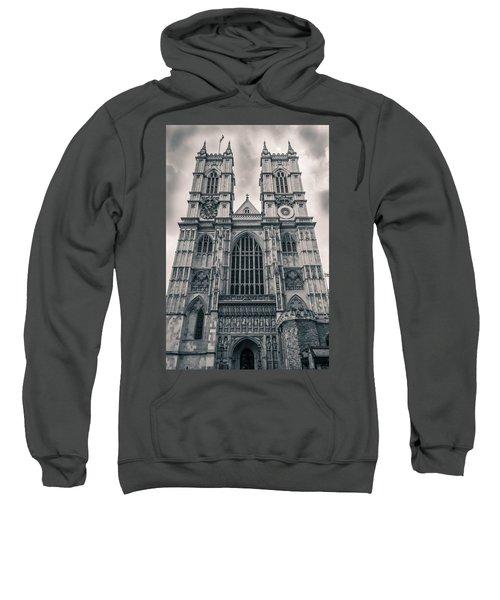 Westminister Abbey Bw Sweatshirt