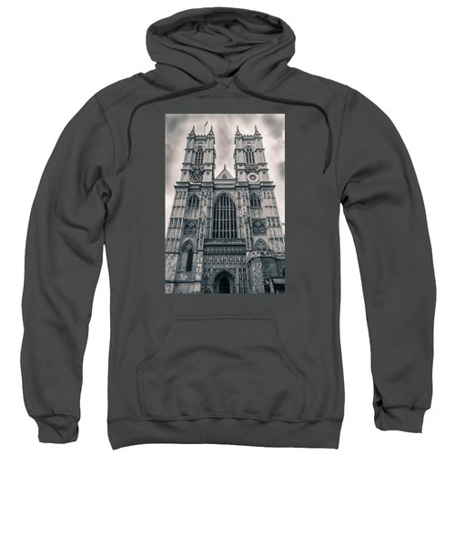 Westminister Abbey Bw Sweatshirt