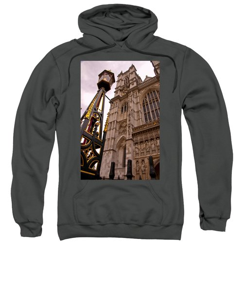 Westminster Abbey London England Sweatshirt by Jon Berghoff