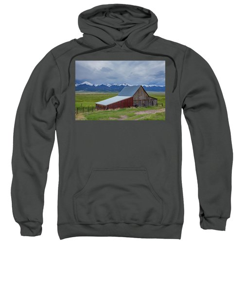 Wet Mountain Valley Barn Sweatshirt
