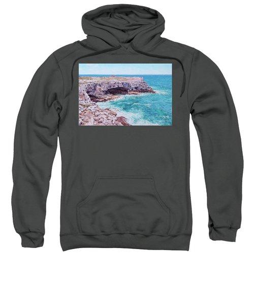 Whale Point Cliffs Sweatshirt