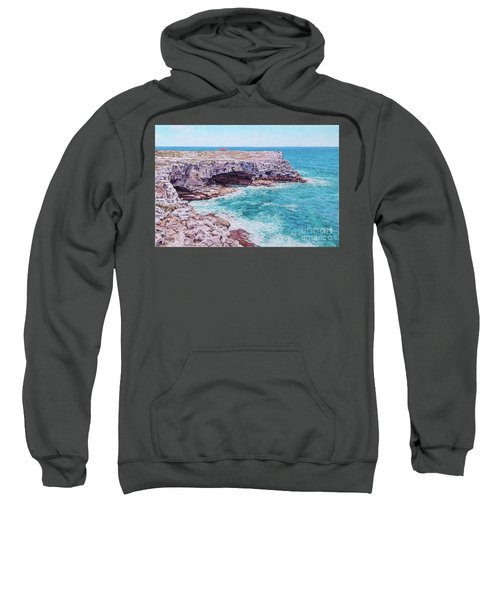 Whale Point Cliffs Sweatshirt