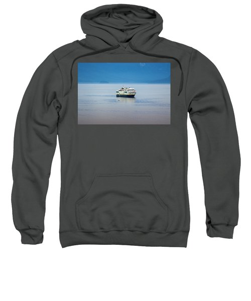 Whale Watching In Glacier Bay Sweatshirt