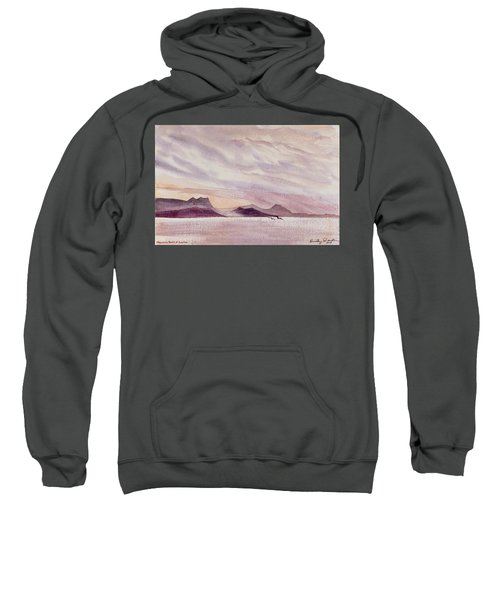 Whangarei Heads At Sunrise, New Zealand Sweatshirt