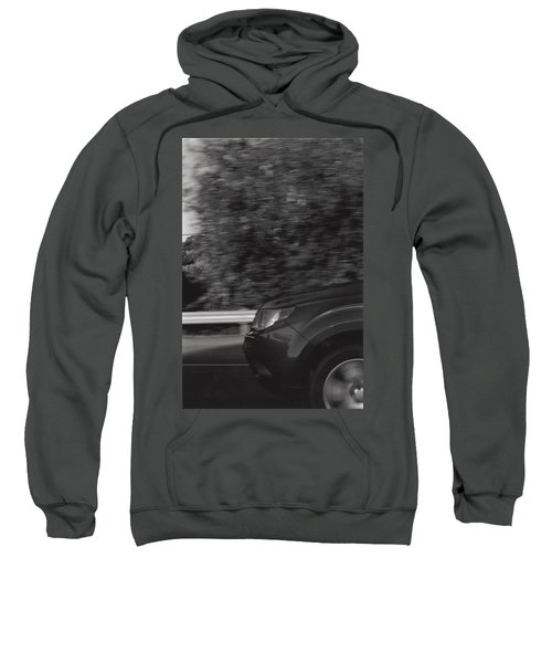 Wheel Blur Photograph Sweatshirt