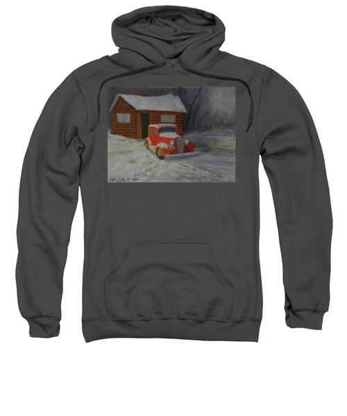 When Cars Were Big And Homes Were Small Sweatshirt