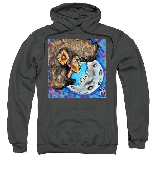 When He Gave You The Moon Sweatshirt