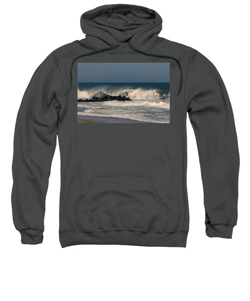 When The Ocean Speaks - Jersey Shore Sweatshirt