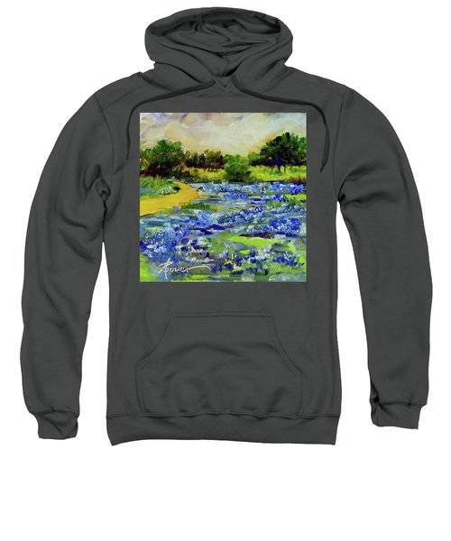 Where The Beautiful Bluebonnets Grow Sweatshirt