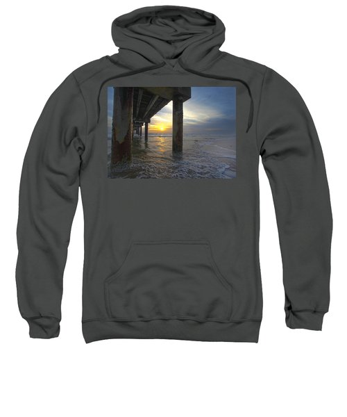 Where The Sand Meets The Surf Sweatshirt
