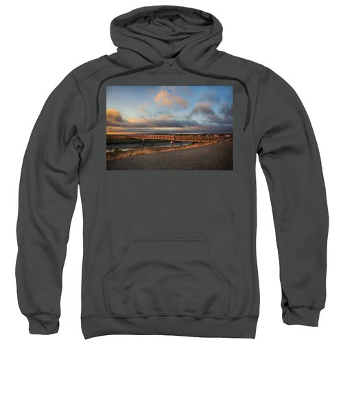 Where The Years Behind Are Piled Up High Sweatshirt