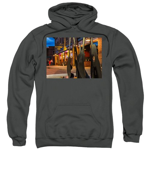 Whiskerz And Guitar Icons Sweatshirt