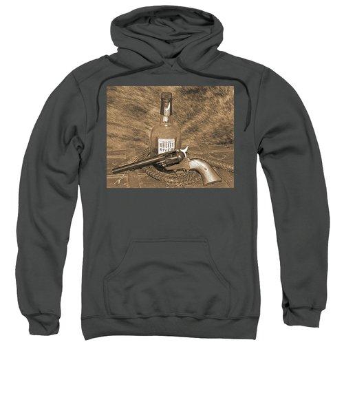 Whiskey And A Gun Sweatshirt