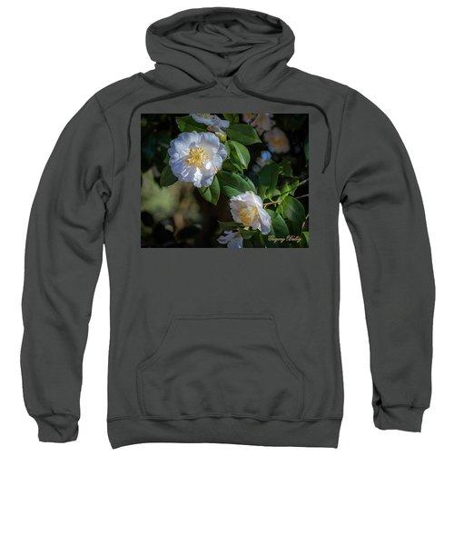 White Camelia 02 Sweatshirt