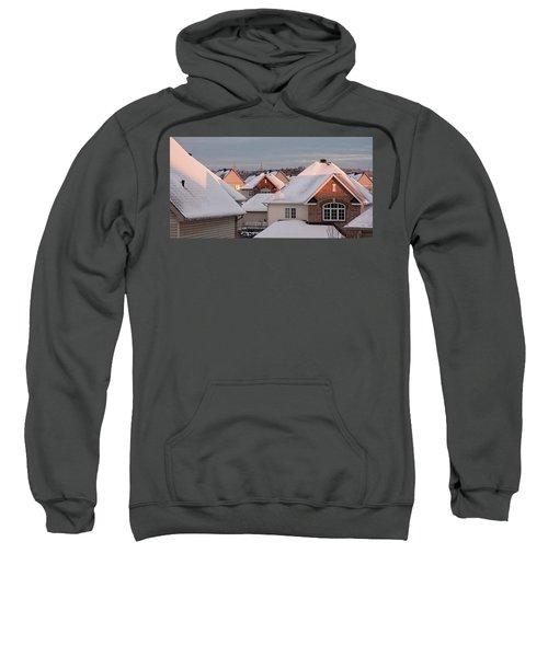 White December Rooftops Sweatshirt