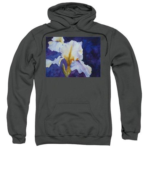 White Iris Sweatshirt
