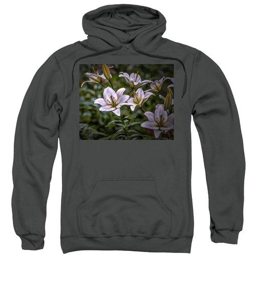 White Lilies #g5 Sweatshirt