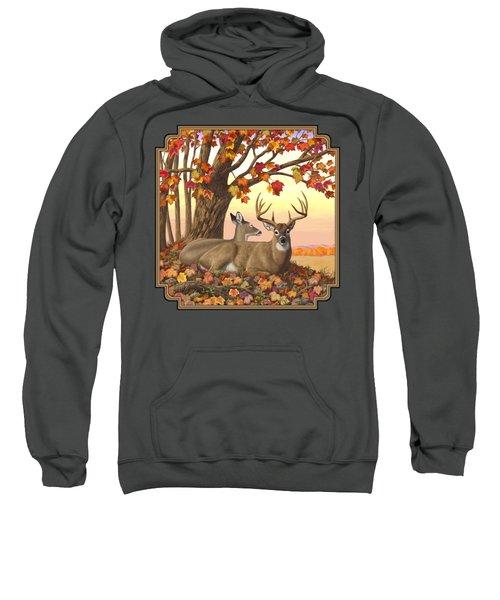 Whitetail Deer - Hilltop Retreat Sweatshirt