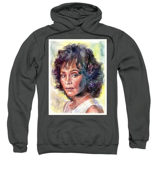 Whitney Houston Portrait Sweatshirt