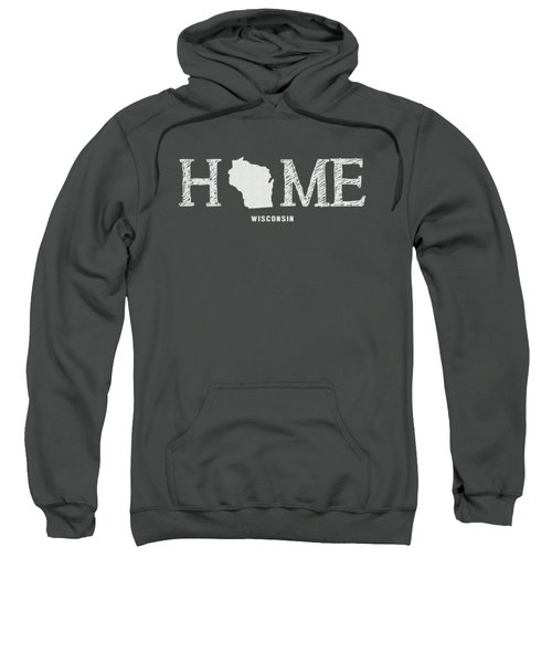 Wi Home Sweatshirt by Nancy Ingersoll