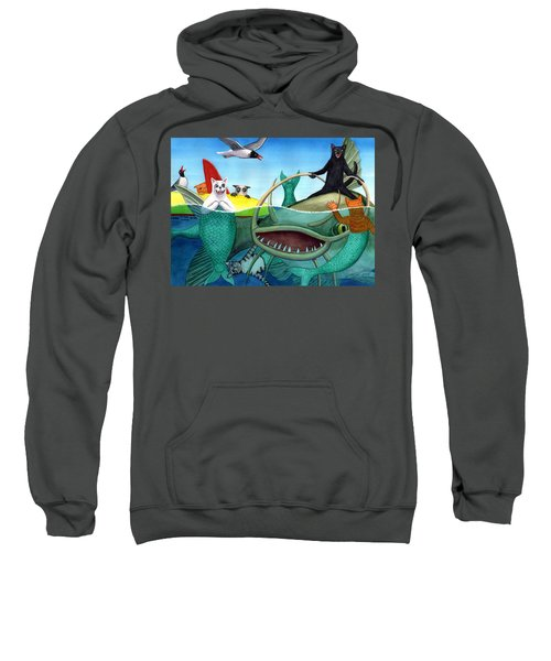 Wicked Kitty's Catfish Sweatshirt