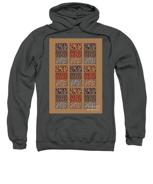 Wild Cats Patchwork Sweatshirt