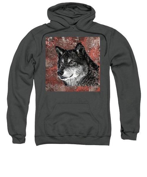 Wild Dark Wolf Sweatshirt