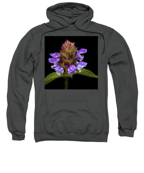 Wild Flower Portrait Sweatshirt