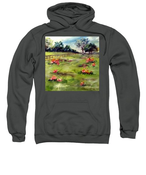 Texas Wild Flower Road Trip  Sweatshirt